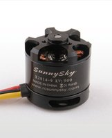 Wholesale Motor Brushless For Aircraft - 100% Original SunnySky X2814 900KV 1000KV 1100KV 1250KV 1450KV Outrunner External Rotor Brushless Motor for RC Aircraft Quadrocopter Heli