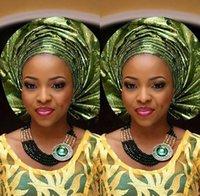 schwarze prom ohrringe großhandel-afrikanische perlen schmuck set 2019 luxus schwarz gold Aussage Brautjungfern Dame Frauen aso ebi Prom Party Modeschmuck Ohrringe armband set
