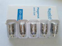 Wholesale Vapeston Maganus Coils - 100% Authentic Vapeston Maganus DVC Coils 0.2ohm 0.5ohm Dual Vertical Coil Heads Fit 150watt Box Mod 5pcs pack Free Shipping