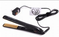 """Wholesale Resell Hot - 20% off HOT Pro 1"""" Ceramic Ionic Tourmaline Flat Iron Hair Straightener with Retail Box resell with great quality"""