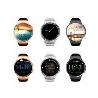 Wholesale Answer Gear - [NeW] KW18 Bluetooth smart watch full screen Support SIM TF Card Smartwatch Phone Heart Rate for apple gear s2 huawei