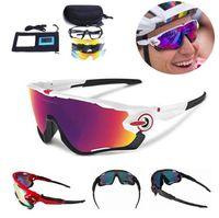 ingrosso marche di biciclette-2019 occhiali polarizzati di marca ciclismo occhiali da ciclismo ciclismo occhiali 3 lenti jbr ciclismo occhiali da sole sportivi occhiali da sole bicicletta guida a buon mercato