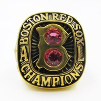 Wholesale Red Sox Championship Ring - 1967 Boston Red Sox Major League Baseball Championship Ring solid as men best gifts high quality