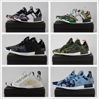 Wholesale Medium Rubber Ducks - 2017 With Box High Quality NMD XR1 Discount Cheap Duck Camo X City Sock Pk Wool Boost for Top Quality Fashion Running Shoes Size 36-45
