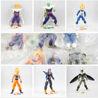 dragon ball 6pcs set Dragonball Z Dragon Ball DBZ Anime 15 cm Goku Vegeta Piccolo Gohan super saiyan Giunto mobile Action Figure Toy