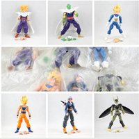 palla drago 6pcs set Dragonball Z Dragonball Sfera DBZ Anime 15cm Goku Vegeta Piccolo Gohan super funzionale Shape Forma Movable Toy Figura