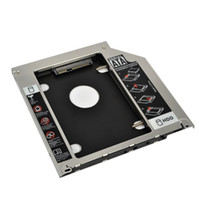 "Wholesale 2nd Hard Drive Caddy Macbook - Wholesale- Universal 9.5mm Second HDD Caddy 2nd SATA 3.0 Hard Disk Drive 2.5"" SSD Enclosure for Macbook Pro Air etc CD DVD ROM"