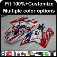 1199 verkleidungen großhandel-23colors + 8Gifts Spritzen XEROX ROT Motorradverkleidung für DUCATI 1199 2012 2013 2014 1199 12 13 14 ABS Plastik Verkleidung