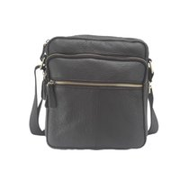 Wholesale Cheap Messenger Bags Men - Wholesale-2016 High quality genuine leather male bag brand fashion men Shoulder crossbody bags Casual black small messenger Bag cheap