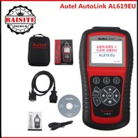 Wholesale Honda Srs Reset Tool - 100% Original Autel AutoLink AL619 OBDII CAN ABS And SRS Scan Tool Autel AL619 Autel al 619 ABS SRS Scanner Update Online