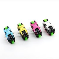 Wholesale Model Motorbikes - newly fidget hand spinner Best Gift For Kids ABS Motorbike Model Metal Puzzle Fidget Hand Spinner Assembly Car Model Toys