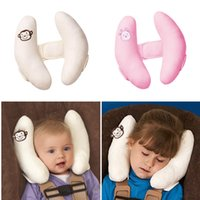 Wholesale Newborn Car Seat Safety - Banana shape Adjustable Protective Pillow Baby Grows Toddlers Head Safety Car seat pillow The Most Effective Head Support for Newborns