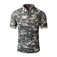 Wholesale Gray Combat Shirt - Shanghai Story Tactical Gear Military Airsoft Special Ops Combat Shirt Camouflage Light Weight Rapid Assault Short Sleeve TShirt for Men