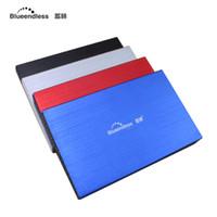 Wholesale bag external disk - Wholesale- hard disk usb 3.0 hdd 2.5 inch case sata external hard drive disk case enclosure ssd caddy storage bag for 1tb hard driver U23YA