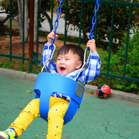Wholesale Outdoor EVA Plastic Hanging Basket Baby Swing Seat Safety Kids Child Outdoor Garden Park Play Swing