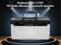MS-177BT LED Multimedia Drahtlose Bluetooth Lautsprecher Audio mit USB MP3 TF AUX Schnittstelle FM Radio Outdoor Party Bass Musik 15 Watt 600 MAH