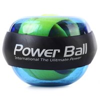 Wholesale Power Exercise - Wrist Power Ball Roller with Strap Gyroscope Force Strengthener Hand Ball Wrist Exercise For sportsman Computer Typist Pianist +B