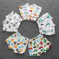 Wholesale Girl Knickers Pants - Brand Baby Boy Pants Cotton Infant Short Panties Baby Girls Clothes Knickers Boy Breeches Children Harem Pant Car Animal Shorts Diaper Cover