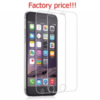 Wholesale Protector Model - IN STOCK 20pcs lot 2.5D 0.33mm 9H Premium Tempered Glass Screen Protector For IPhone 6 6s plus 5 SE 5s 7 plus 7+ Mix models