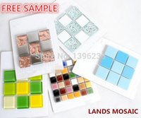 Wholesale Building Wall Tile - FREE SAMPLE of our Mosaic Tiles, 4X4,6x6, 6X12 Building material Sample, glass metal ceramic etc. mosaic tiles.LSFS01