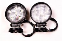 Wholesale 12 Volt Flood Lights - Hot sale! auto motorcycle parts 4inch 18watt ip68 led motorcycle 12 volt 18w led work light