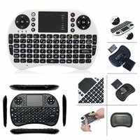 Wholesale Combo Mini Teclado - Mini Wireless keyboard with Touchpad 2.4G Fly Air Mouse Combo Teclado for HDPC Win7 Pad for Xbox360 for PS3 for Andriod TV Box