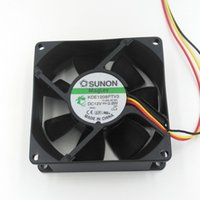 Wholesale Cabinet Computer - New Original SUNON KDE1208PTV3 12V 0.8W 80mm*80mm*25mm Cooling Fan for Power Supply, Computer Case, Network Cabinet, Industrial Equipment