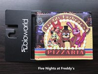 Wholesale Korean Night Fashion - FVIP Anime Cartoon Five Nights At Freddy's Wallet Undertale Purse With Coin Pocket ID Card Holder