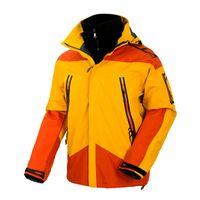 Wholesale Athletics Jacket - Men Spring Winter Outdoor Camping Tech Fleece Softshell Athletic Two- Pieces Jacket Waterproof Windproof Anti-UV Fishing Ski Hiking Coats