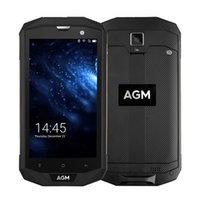 US Versione AGM A8 IP68 impermeabile 4G LTE Smartphone 5.0 pollici Android 7.0 quad core 3GB RAM 32GB ROM 4050mAh NFC