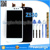 Wholesale Test one by one quot inch LCD For Acer Liquid Z530 LCD Display Digitizer Panel Screen Assembly Tools M Sticker Track