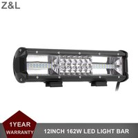 12 Inch 162W LED Light Bar Offroad Car Truck 4x4 SUV ATV 4WD Trailer Wagon Van Camper 12V 24V Driving Lamp Combo Lamp