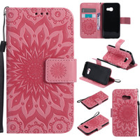 Wholesale Iphone Women Wallet Cases - For iphone x case woman flower leather flip mobile cell phone case with 3 cards slots for iPhone8 6 6S 7 S8 plus