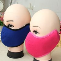 Wholesale wind protection masks for sale - Group buy The winter cycling warm dust mask Wind mouth combined mask Ear protection mask mask