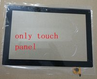Wholesale Glass Tablet Lenovo - Wholesale- For lenovo ideapad miix 310 miix310-101CR touch panel Tablet PC Touch Screen Digitizer Glass Lens lcd display screen