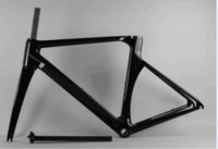 Wholesale Super Light Bike Frame - 2 year warranty super light carbon frame new style shinny red bicycle carbon frame T1100 matt road frame set carbon free shipping