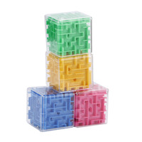 Maze Magic Cube Puzzle 3D Mini Speed ​​Cube Labyrinth Rolling Ball Toys Puzzle Game Cubos Magicos Jouets d'apprentissage pour enfants