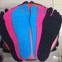Wholesale Nakefit soles Newest Beach Shoes foot feet pads waterproof pad for walking Summer DHL shipping