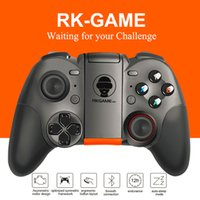 Wholesale game dual joystick resale online - 2017 RK Game th Bluetooth Gamepad Wireless Joystick Dual Mode Support for IOS For Android Game Controller Joypad