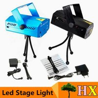 3 years stage moving lights - 2016 cheaper MW Mini Red Green Moving Party blue black body Laser Stage Light laser DJ party light Twinkle Tripod led stage lamp