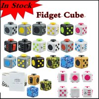 Wholesale American Kill - In stock Decompression Toy Fidget cube first American decompression anxiety Toys for killing time via DHL