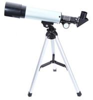 ingrosso telescopio astronomico spaziale-Telescopio astronomico spazio all'aperto monoculare F36050M con treppiede portatile Cannocchiale telescopio telescopico 360 / 50mm
