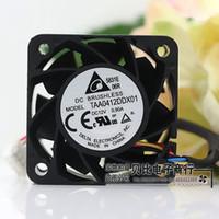 şiddetli fan toptan satış-Delta TAA0412DDX01 4020 12 V 4 CM dört hattı 0.9A ultra şiddetli fan sunucusu
