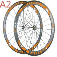 Wholesale Cheap Bike Hubs - Free shipping china road bike wheels front 38mm rear 50mm cheap bicycle wheels 700C full carbon cycling wheels with powerway hubs in stock