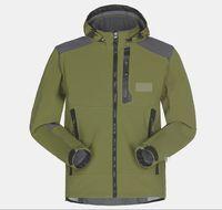 Wholesale Women Jacket Xxl - Wholesale-Men Waterproof Breathable Softshell Jacket Men Outdoors Sports Coats women Ski Hiking Windproof Winter Outwear Soft Shell jacket