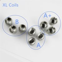 Wholesale Laser Products Wholesalers - XL wax Coils Ecig Products Including Wax Coils Clapton Coil Titanium Cup XL Wax Coils And Laser engrave logos on for free