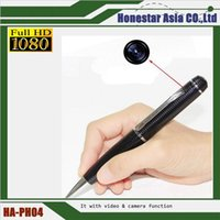 Full HD 1080P Camera Corn Pen Seguridad Oculto Spy Videocámara DVR DV USB Fash Drive PC webcam