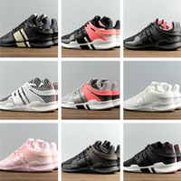 Wholesale Hight Quality EQT Support ADV Running Shoes Fashion Running Sneakers For Men WomenTurbo Red Black White Pink A D US5