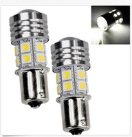 20PCS 1157 1156 10W Blanc Cree R5 + 12SMD 1156 BA15S 1141 Voiture de queue de sauvegarde LED Light Sales