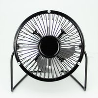 Wholesale Uses For Wind - USB Metal Head Fanner 360 Rotate Mute Radiator Portable Cooler Cooling For Desktop Wide Range Of Use 5 8ss R